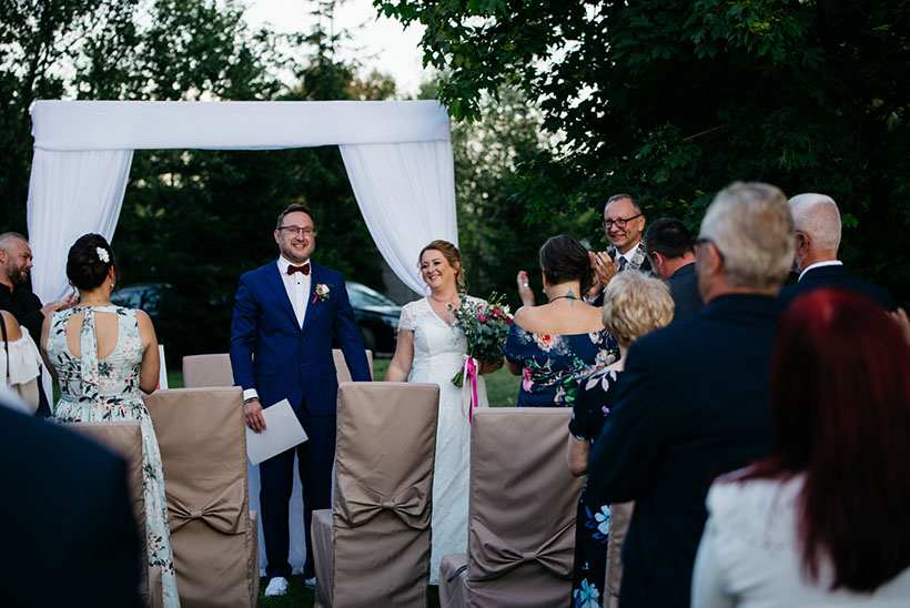 Ślub w plenerze Zduńska Wola